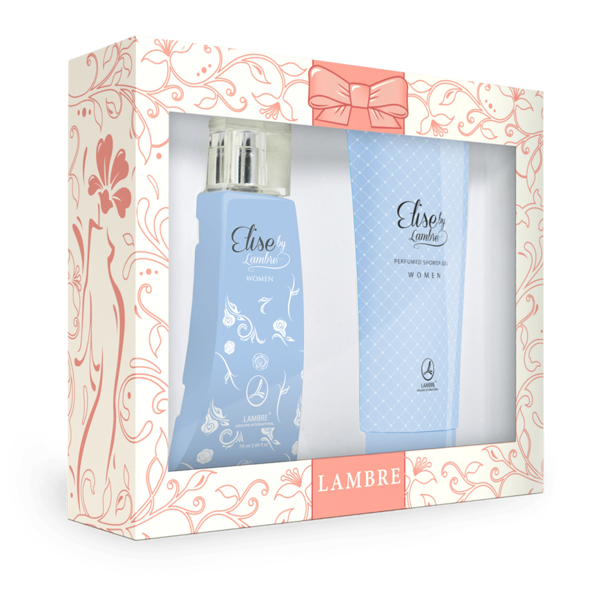 Подарочный набор Elise PERFUMED SET WITH GEL FOR WOMEN