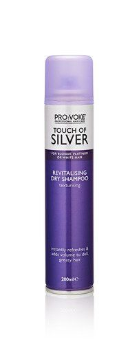 Восстанавливающий сухой шампунь TOUCH OF SILVER Revitalising Dry Shampoo