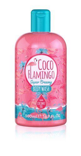 Гель для душу з маслом кокосу Inecto COCO FLAMINGO BODY WASH